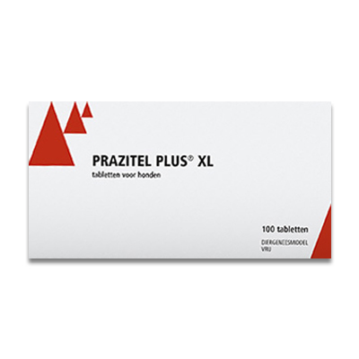 Prazitel Plus XL Ontworming Hond - 10 Tabletten | Petcure.nl