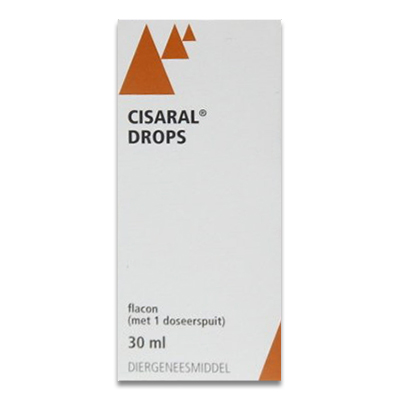 Cisaral Drops - 30 ml | Petcure.nl