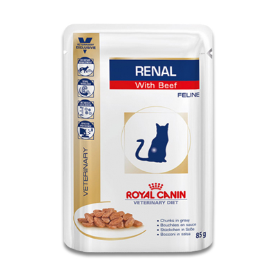 Royal Canin Renal Kat (Rund) - 12 x 85 g Portie | Petcure.nl