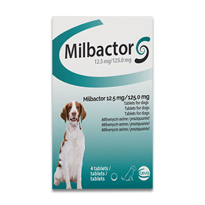 Milbactor Big Dog - 4 Tabletten