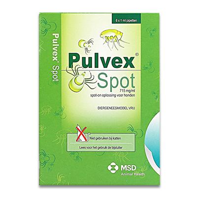Pulvex Spot-on (Exspot) - 6 Pipetten