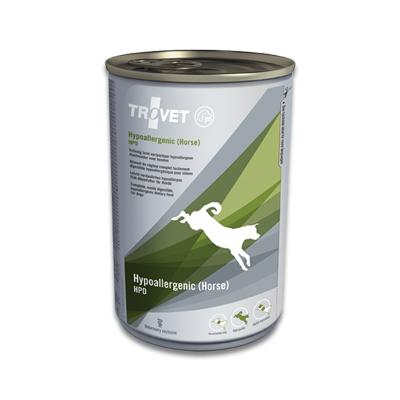 TROVET Hypoallergenic HPD (Horse) - 12 X 400 g Blikken | Petcure.nl