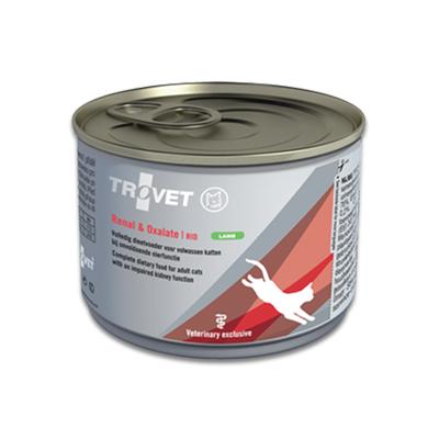 TROVET Renal & Oxalate RID (Lamb) Kat - 12 X 175 g Blik | Petcure.nl