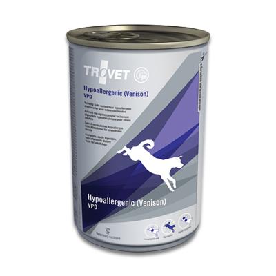 TROVET Hypoallergenic VPD (Venison) - 12 X 400 g Dosen