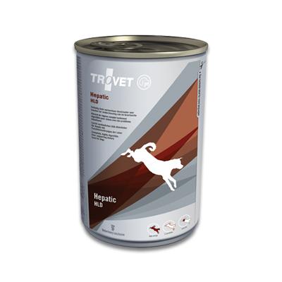 TROVET Hepatic HLD Hond - 6 X 400 g Blikken | Petcure.nl