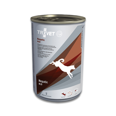 TROVET Hepatic HLD Hund - 6 X 400 g Dosen