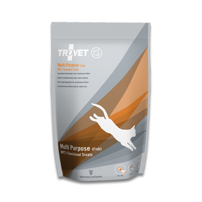 TROVET Multi Purpose Treat MFT (Fish) - 10 X 75 g | Petcure.nl