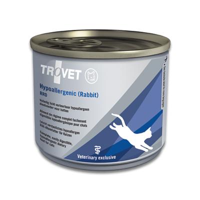 TROVET Hypoallergenic RRD (Rabbit) Katze- 12 X 200g Dosen