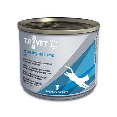 TROVET Hypoallergenic LRD (Lamb)  Kat - 12 X 200g Blikken
