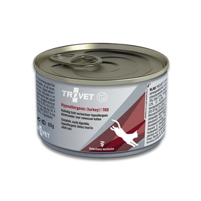 TROVET Hypoallergenic TRD (Turkey) Katze - 24 X 85 g Dosen