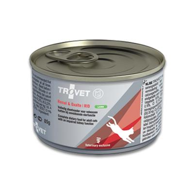TROVET Renal & Oxalate RID (Lamb) Kat - 24 X 85 g Blik | Petcure.nl