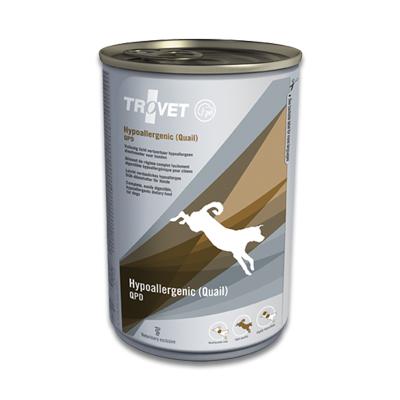 TROVET Hypoallergenic QPD (Quail) Hund - 12 X 400 g Dosen