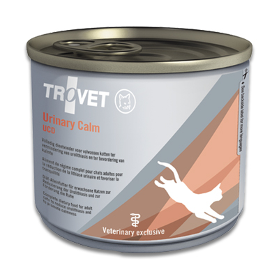 TROVET Urinary Calm UCD - 6 x 200 g Blik | Petcure.nl