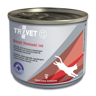 Trovet Renal & Oxalate RID (venison) Katze - 12 x 200 g