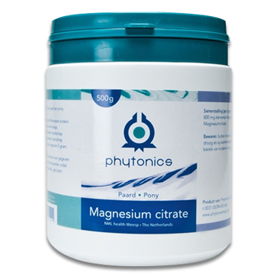Phytonics Magnesium Citrate - Paard/Pony - 500 gr | Petcure.nl