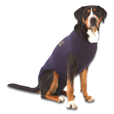 Medical Pet Shirt Hond - Blauw L | Petcure.nl
