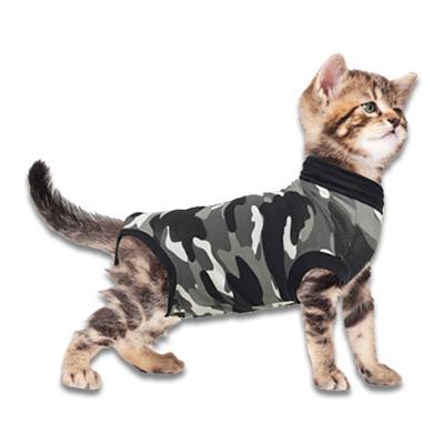 Recovery Suit Katze - XXXS - Grau