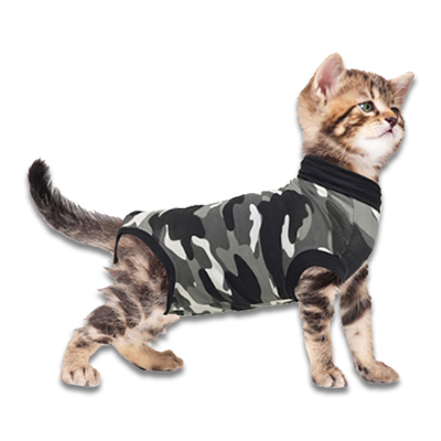 Recovery Suit Katze - S - Grau