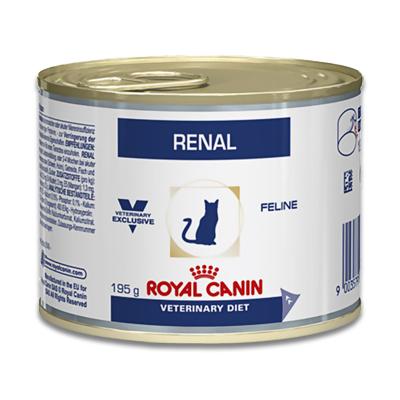 Royal Canin Renal Kat (Kip) - 12 x 195 g Blik | Petcure.nl