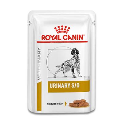 Royal Canin Urinary S/O Hond - 12 x 100 g Portie   Petcure.nl