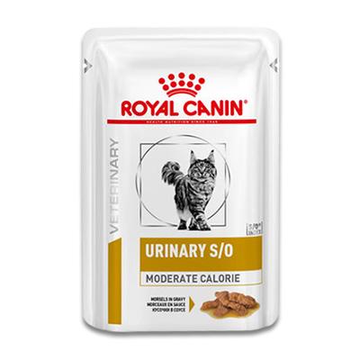 Royal Canin Urinary S/O Moderate Calorie Kat - 12 x 85 g Portie | Petcure.nl