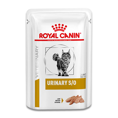 Royal Canin Urinary S/O Cat (Loaf) - 12 x 85 g Pouches