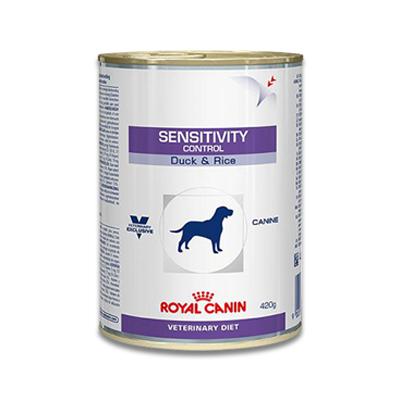 Royal Canin Sensitivity Control Hund (Ente & Reis) - 12 x 420 g Dosen