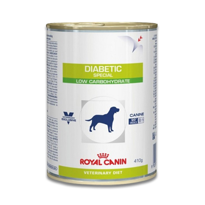 Royal Canin Diabetic Diet Hund - 12 x 410 g Dosen
