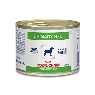 Royal Canin Urinary S/O Hund - 12 x 200 g Dosen