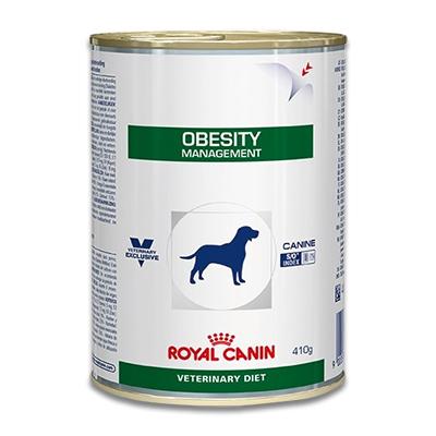 Royal Canin Obesity Management Hund - 12 x 410 g Dosen