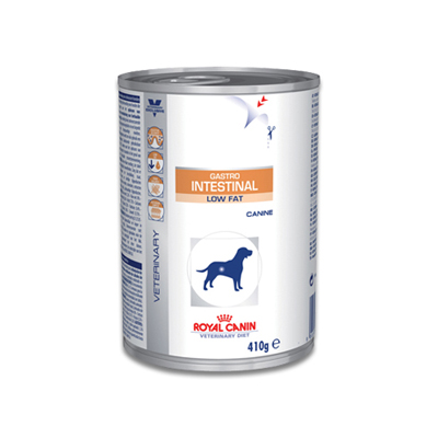 Royal Canin Gastro Intestinal Low Fat - 12 x 410 g Blikken | Petcure.nl