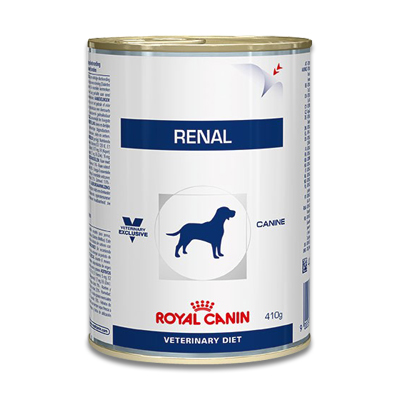 Royal Canin Renal Dog  - 12 x 410 g Tins