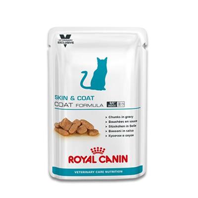 Royal Canin Skin & Coat (Kat) - 12 x 100 g Portie | Petcure.nl