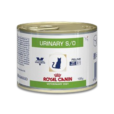 Royal Canin Urinary S/O Katze - 12 x 195g (Huhn) Dosen