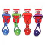 Kong Squeezz Ball with Handle - Medium (assorted colours)