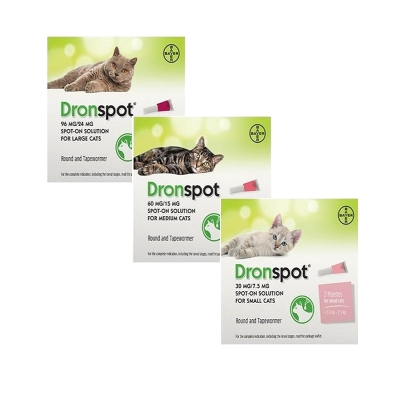 Dronspot Spot-on Ontwormen Kat | Petcure.nl