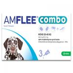 Amflee Combo Hond L ( 20 - 40 kg ) - 3 Pipetten | Petcure.nl