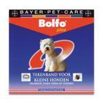 Bolfo Plus Tekenband - Kleine Hond - 1 st