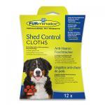 FURminator Anti-Haaren Feuchttuecher (Hunde) - 12 Stuecke
