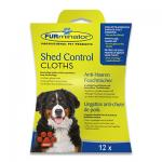 FURminator Shed Control Doekjes (Hond) - 12 Stuks | Petcure.nl