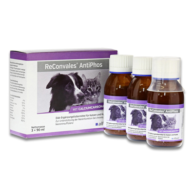 ReConvales AntiPhos Hund / Katze - 3 x 90 ml