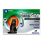 Pestigon 50mg - Kat - 4x1 Pipetten | Petcure.nl