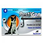Pestigon - Hund - M  (10-20 kg) - 4x1 Pipetten