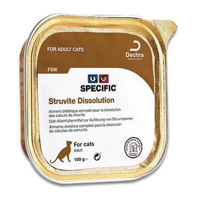 SPECIFIC FSW Struvite Dissolution - 7 x 100 g | Petcure.nl