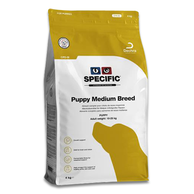 SPECIFIC CPD-M Puppy Medium Breed - 4 kg