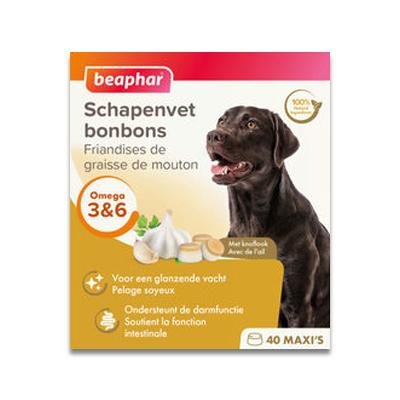 Beaphar Schapenvet Bonbon Knoflook Maxi -245 g | Petcure.nl