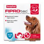 FiproTec Spot-on Chien (10-20 kg) - 4 pipettes