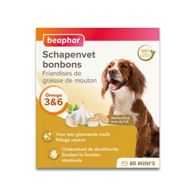 Beaphar Schapenvet Bonbon Knoflook Mini - 245 g | Petcure.nl