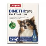 Beaphar Dimethicare Line-On Hund bis zu 15kg - 6 Pipetten