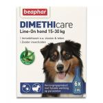 Beaphar Dimethicare Line-On Hund 15-30 kg - 6 Pipetten